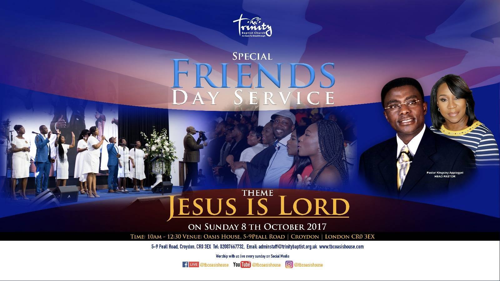 Friends Day Service