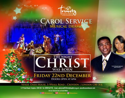 Christmas Carol Service - The Night Christ Was Born