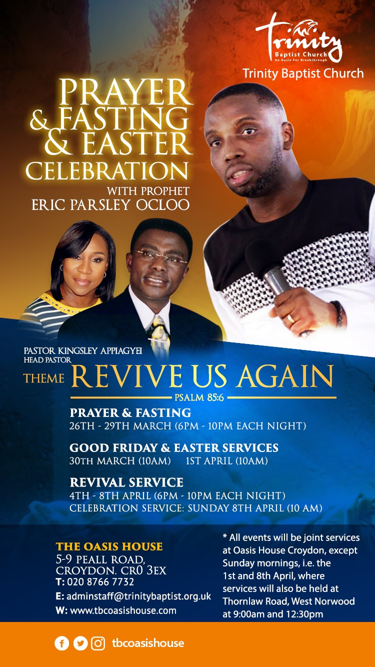 Revival Prayers – Trinity Baptist Church