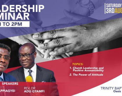 Leadership Seminar - August 2019