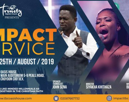 The Impact Service on 25th August