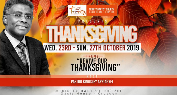 Revive Our Thanksgiving - Joint Service