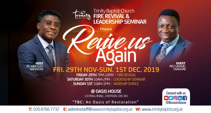 Fire Revival And Leadership Seminar