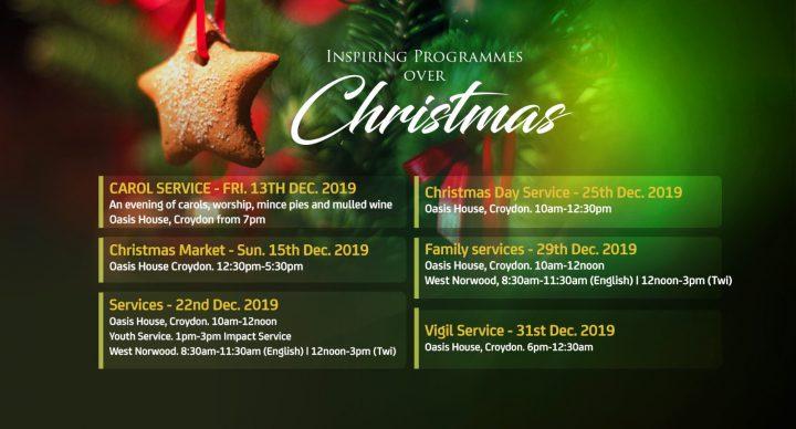 Christmas Programme 2019