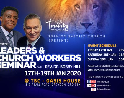 Leaders & Church Workers Seminar