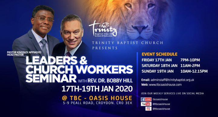 Leaders & Church Workers Seminar