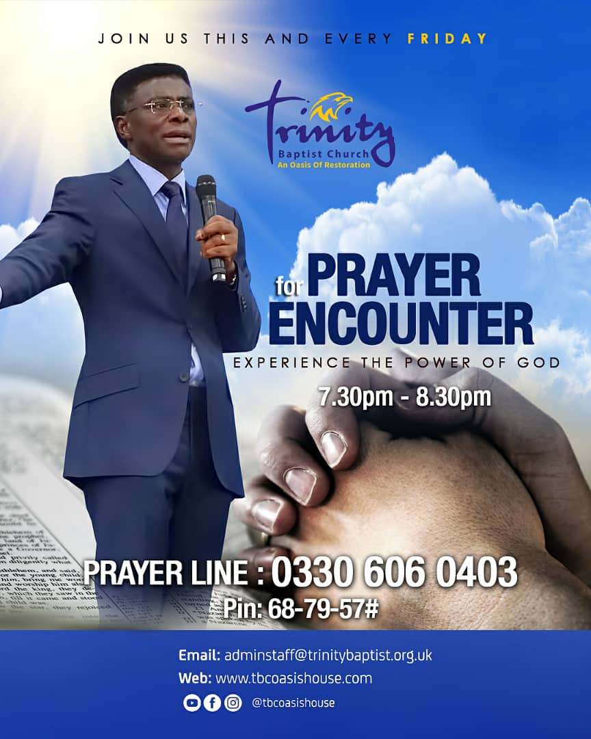 The Friday Evening Prayer Encounter Calls