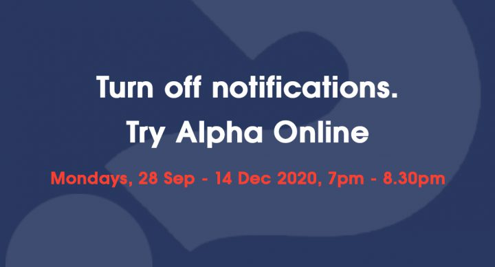 Joint Virtual Alpha Course Starts In September 2020