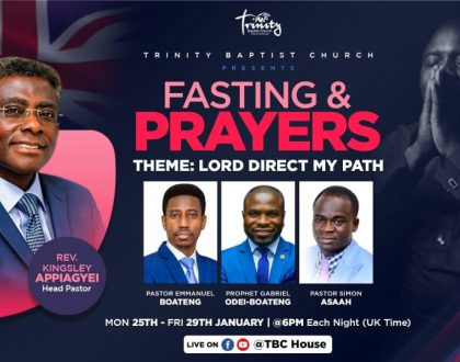 Joint Fasting And Online Prayers - Day 3