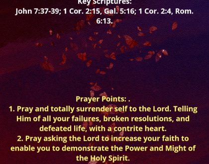 Joint Fasting and Prayer - Prayerfest Day 2