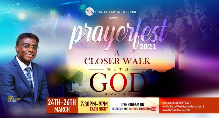 March Fasting and Prayers