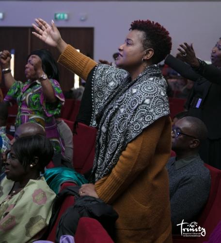 Worshipping With Us At #TBCOasisHouse
